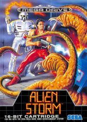 Alien Storm | Box Art / Media (Europe)