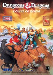 Dungeons & Dragons: Tower of Doom (ARC, 1994)