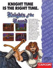 Knights of the Round (ARC, 1992)