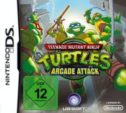Teenage Mutant Ninja Turtles: Arcade Attack | Box Art / Media (Germany)