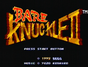 Bare Knuckle II: Shitou he no Chinkonka | Screenshot